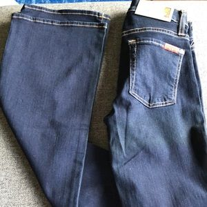 7 For All Mankind Skinny Boot Cut size 24
